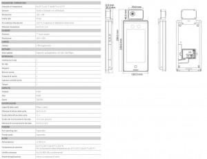 caratteristiche terminale termografico hikvision